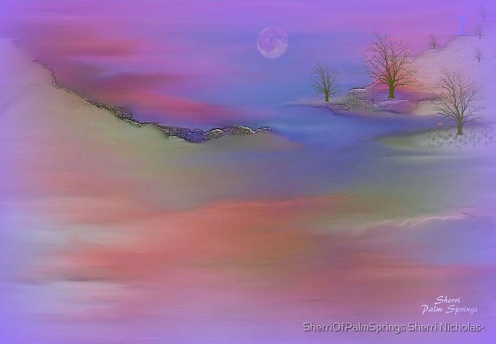 ISLAND IN THE SKY by SherriOfPalmSprings Sherri Nicholas-