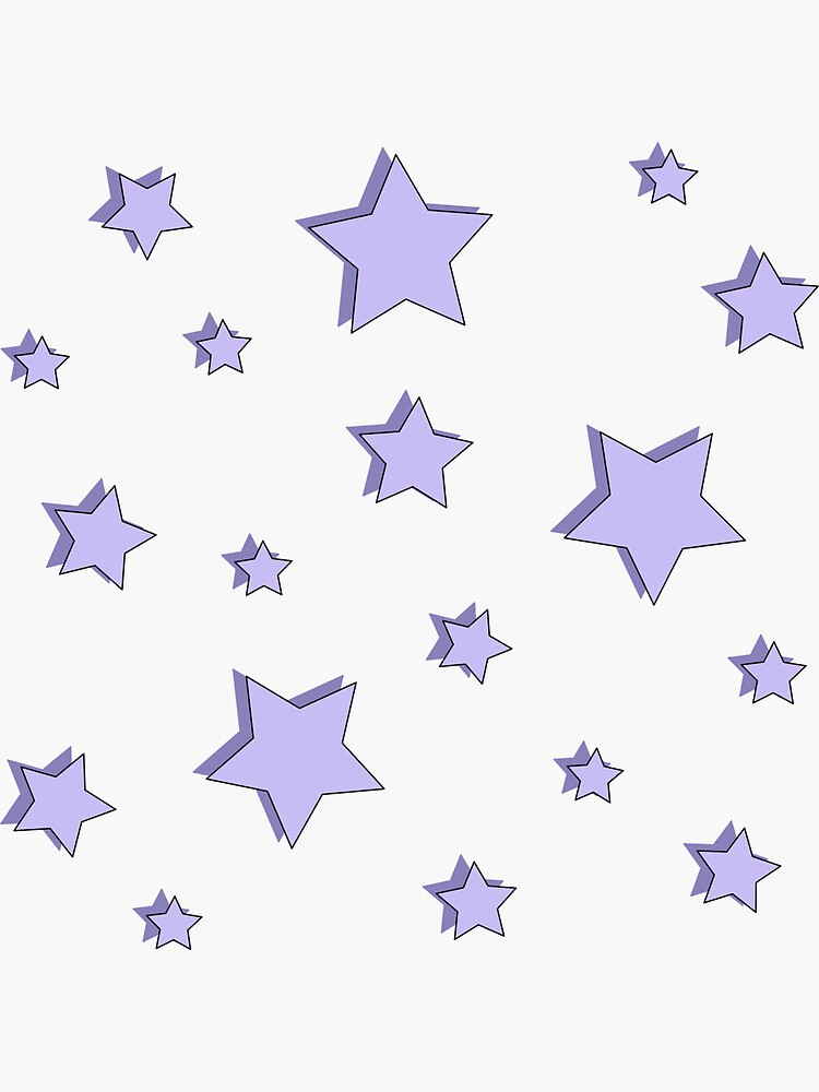 Pastel Purple Star Pack by alexis000