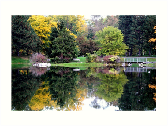 Park Reflections by Vicki Spindler (VHS Photography)
