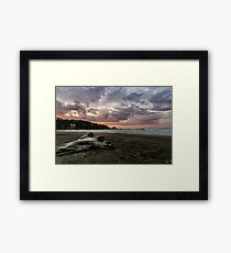 Ohope Sunset Framed Print