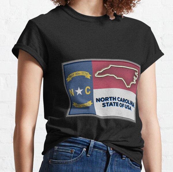 North Carolina State of The USA Classic T-Shirt