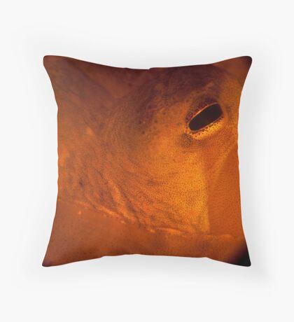 Bottled Octopus Throw Pillow