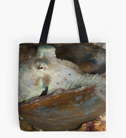 Pale Octopus Tote Bag