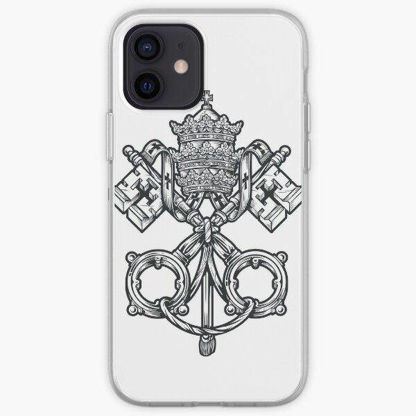 The Holy Catholic Church - Black & White iPhone Soft Case