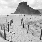 Piha Beach by mattslinn