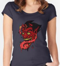 The Devil's Tongue Women's Fitted Scoop T-Shirt
