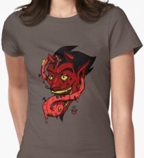 The Devil's Tongue Women's Fitted T-Shirt