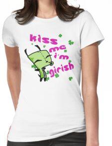 Kiss me, I'm Girish! (3) Womens Fitted T-Shirt
