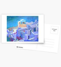 Santorini Postcards