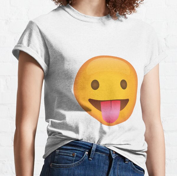 Produits Sur Le Theme Emoji Langue Redbubble