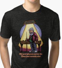 Old Pool Players Tri-blend T-Shirt