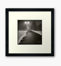 Dark Zone  Framed Print