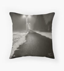 Dark Zone  Throw Pillow