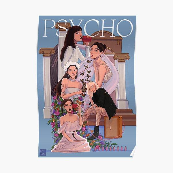 Red Velvet Psycho Fanart Poster