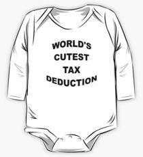 World's Cutest Tax Deduction One Piece - Long Sleeve