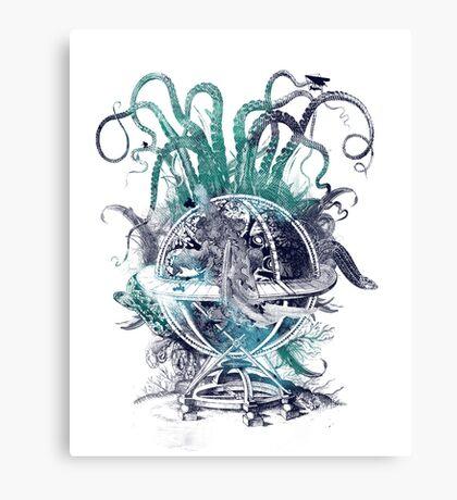 strange artefact amusement park Canvas Print