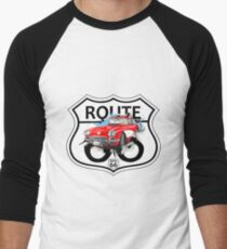 Vintage Route 66 US historic gifts red, white, black T-Shirt