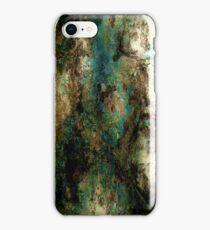 Teal Rust iPhone Case/Skin
