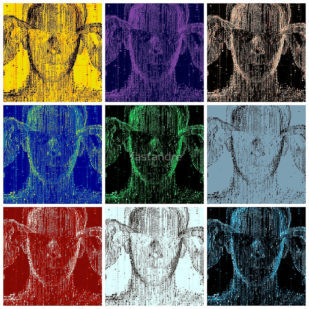 Matrix Neo The One Simulation Theory Warhol Pop Art by fastandre