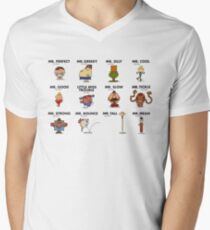 Mr Fighter II Men's V-Neck T-Shirt