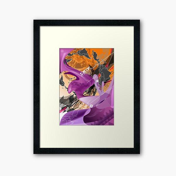 Sabor de America Latina Framed Art Print