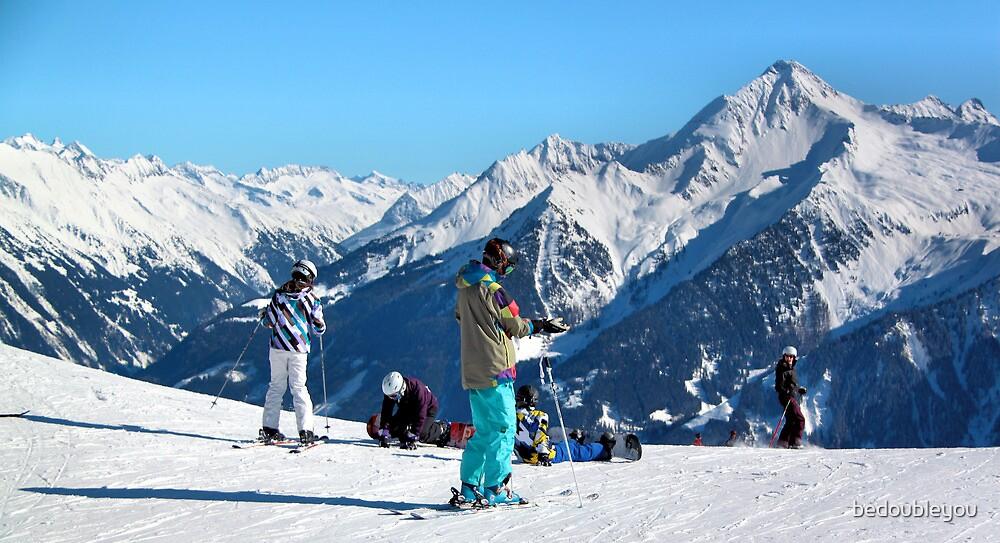 Skiing the Penken, Mayrhofen by bedoubleyou