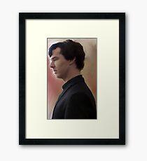 BBC Sherlock Painting Framed Print