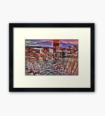 Utopia city Framed Print