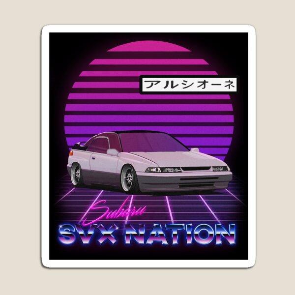 Outrun SVX NATION Magnet