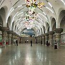 Pyongyang Metro by Marjolein Katsma