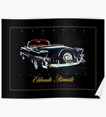 1955 Cadillac Eldorado Biarritz ver 2 Poster