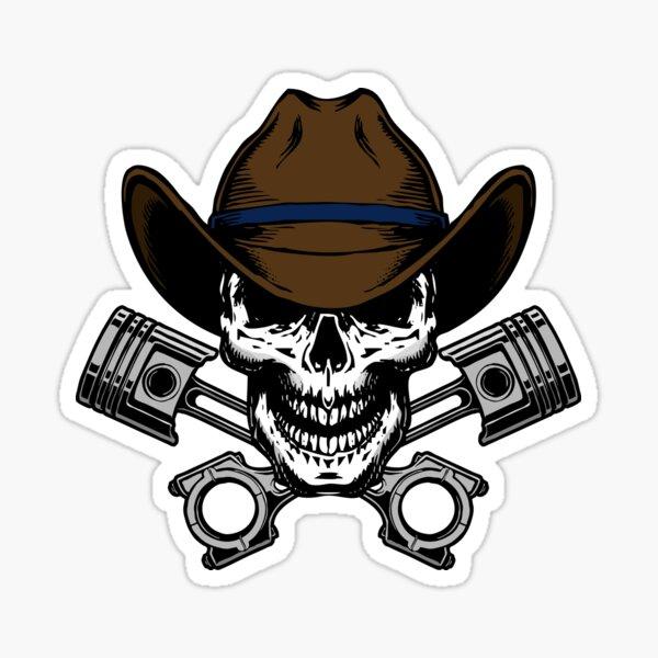 Pale Riders logo Sticker