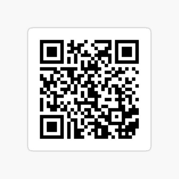 Gimme Your F***ing Money Vine QR Code Sticker