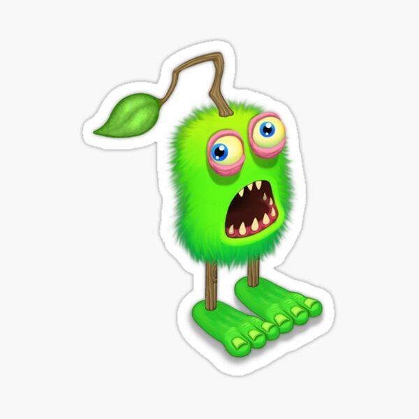 Furcorn My Singing Monsters Character Sticker