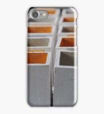 Calendrier de l'avent / Waiting for christmas iPhone Case/Skin