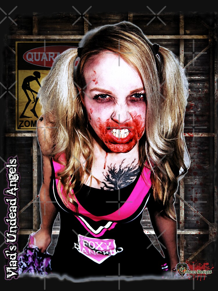 Live Undead Angels: Zombie Cheerleader by EnforcerDesigns