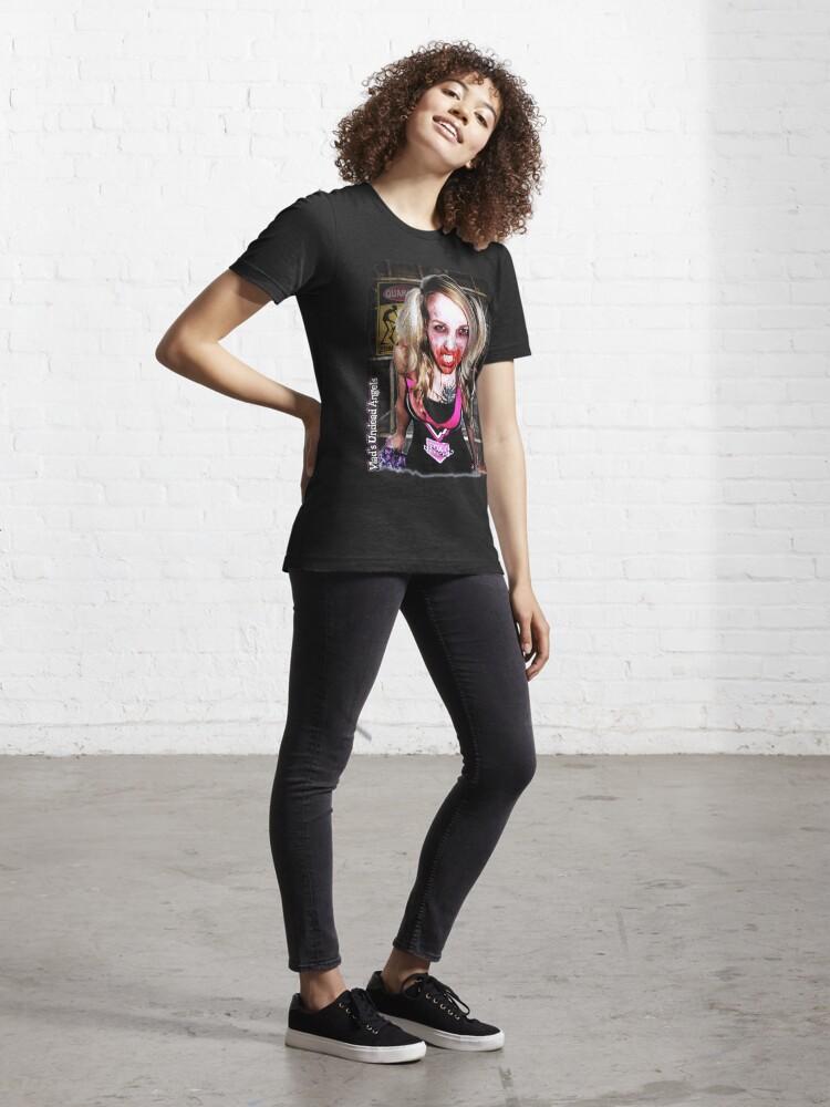 Alternate view of Live Undead Angels: Zombie Cheerleader Essential T-Shirt