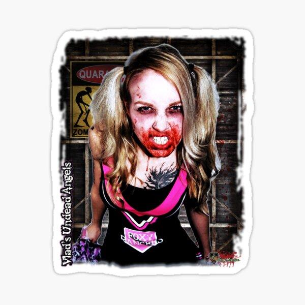 Live Undead Angels: Zombie Cheerleader Sticker