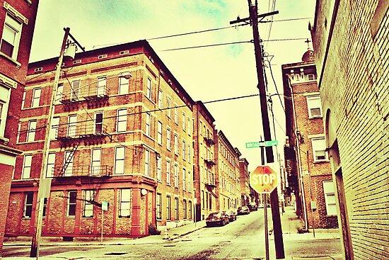 Broadway Street - Downtown Cincinnati by Alex Baker