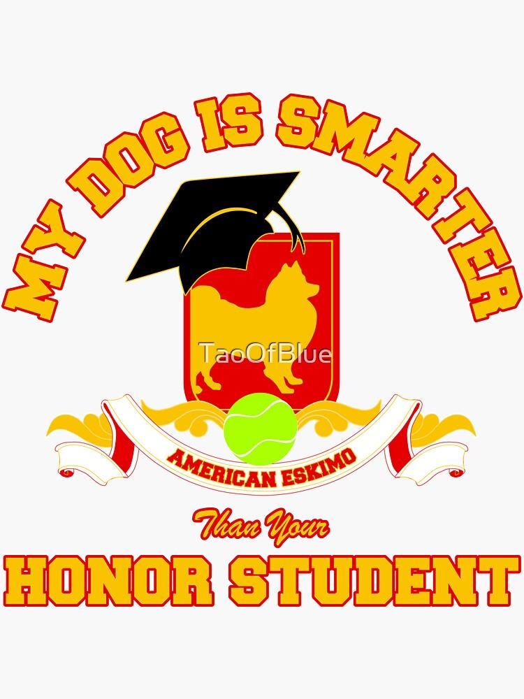 Honor Student - American Eskimo by TaoOfBlue