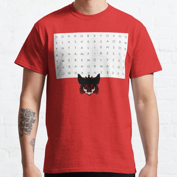 Horror Search  Classic T-Shirt