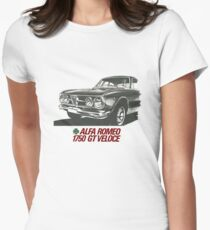 Alfa Romeo 1750 GT Veloce Women's Fitted T-Shirt