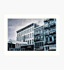 Tower - Downtown Cincinnati Kunstdruck
