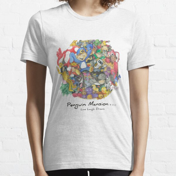 Penguin Mansion - Circle of Characters Essential T-Shirt