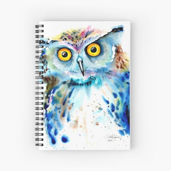 """""""Owl"""" Spiral Notebook"""