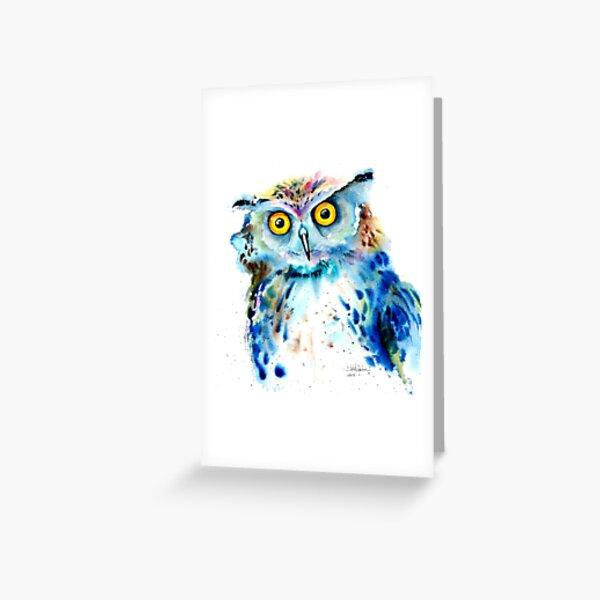 """Owl"" Greeting Card"