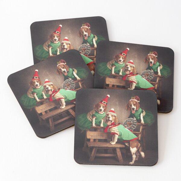 beagle Coasters (Set of 4)
