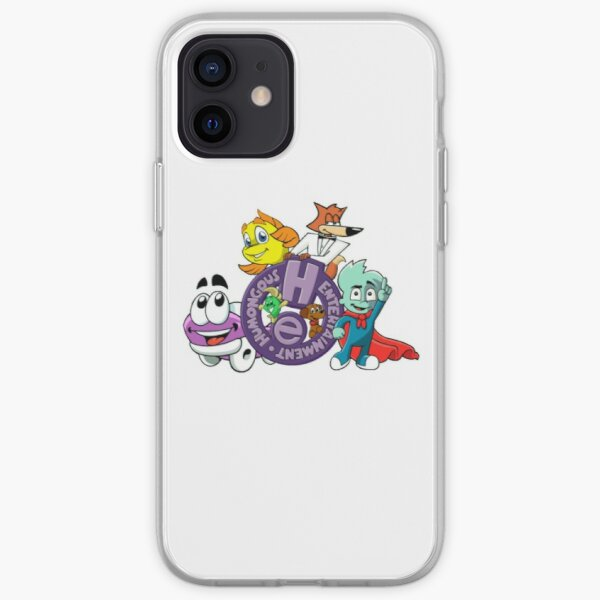 Humongous Entertainment Characters iPhone Soft Case
