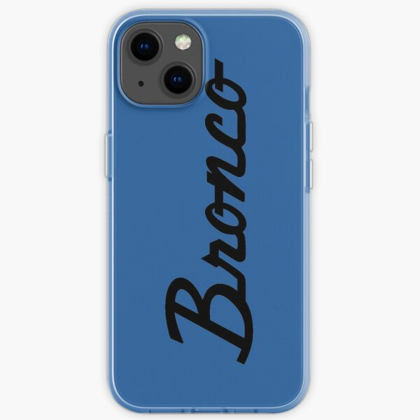 Ford Bronco Script iPhone Soft Case