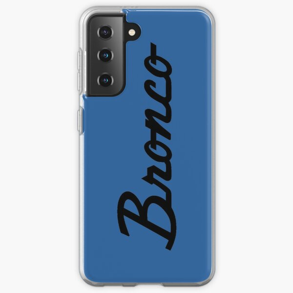 Ford Bronco Script Samsung Galaxy Soft Case